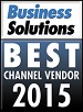 best channel vendor award graphic
