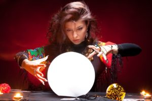 fortune teller predicting the future of mobile payments