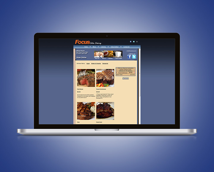 Solution Online Ordering