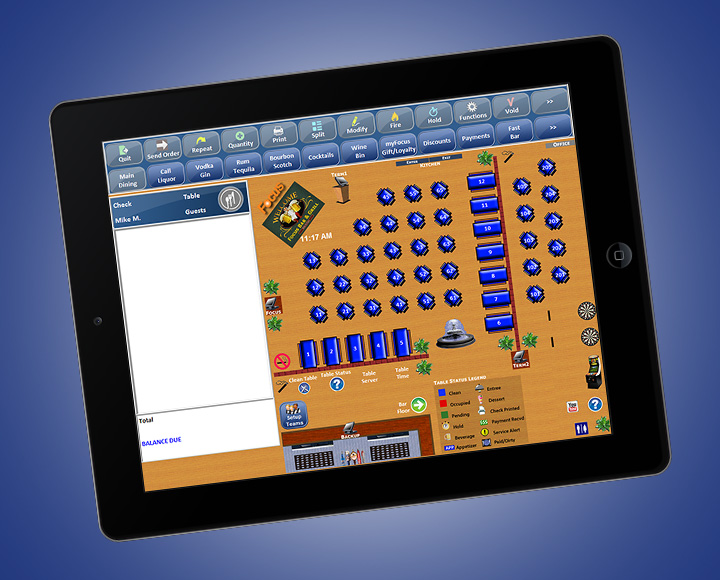 Solution Tablet Pos