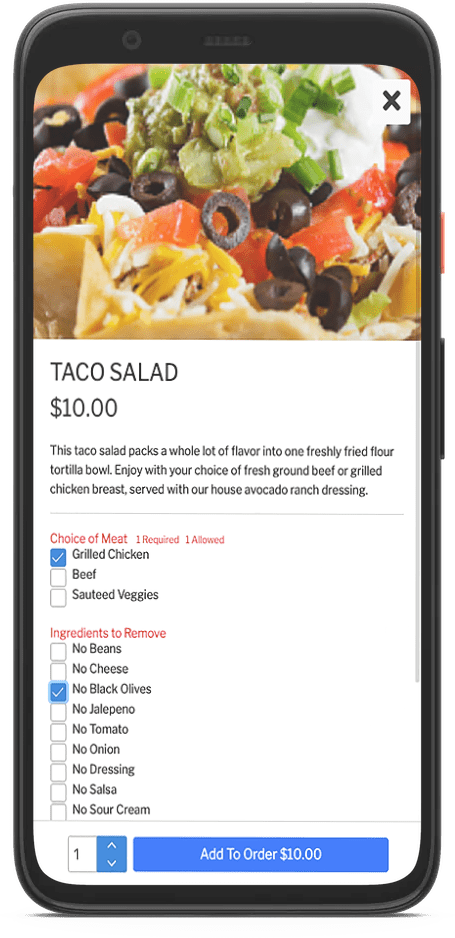 @table taco salad mods screen